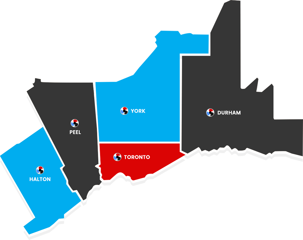 Service Coverage Areas